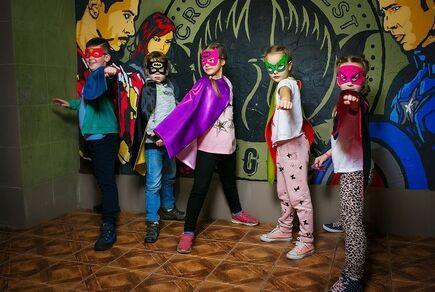Картинка квест кімнати Дитячий квест Портал супергероїв в городе Дніпро